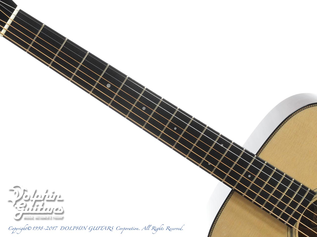 COLLINGS: D-1 Custom Rope Purfling (4)