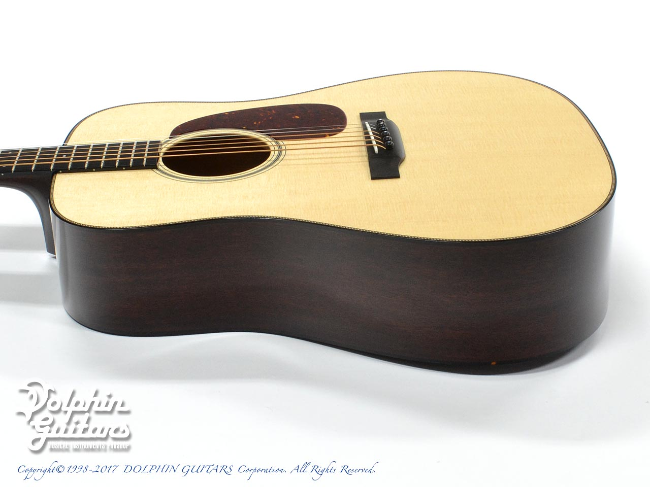 COLLINGS: D-1 Custom Rope Purfling (2)