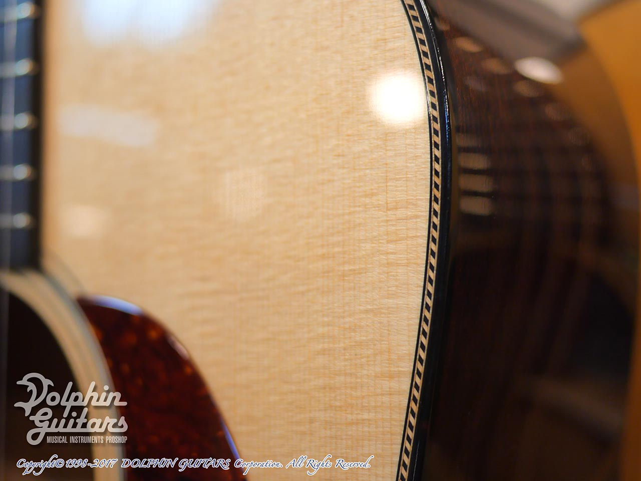 COLLINGS: D-1 Custom Rope Purfling (8)