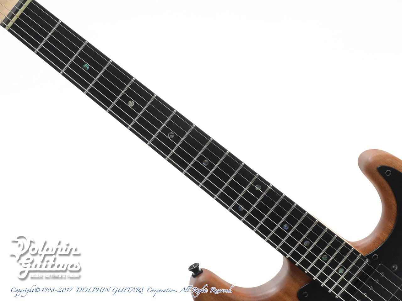 dragonfly: HI STA 22 FULL SIZE H-S-H Maple Neck (African Mahogany) (5)