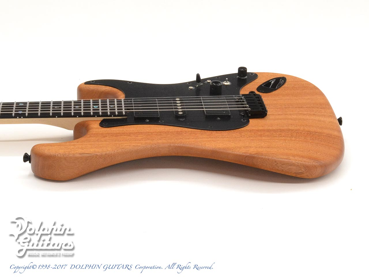dragonfly: HI STA 22 FULL SIZE H-S-H Maple Neck (African Mahogany) (2)