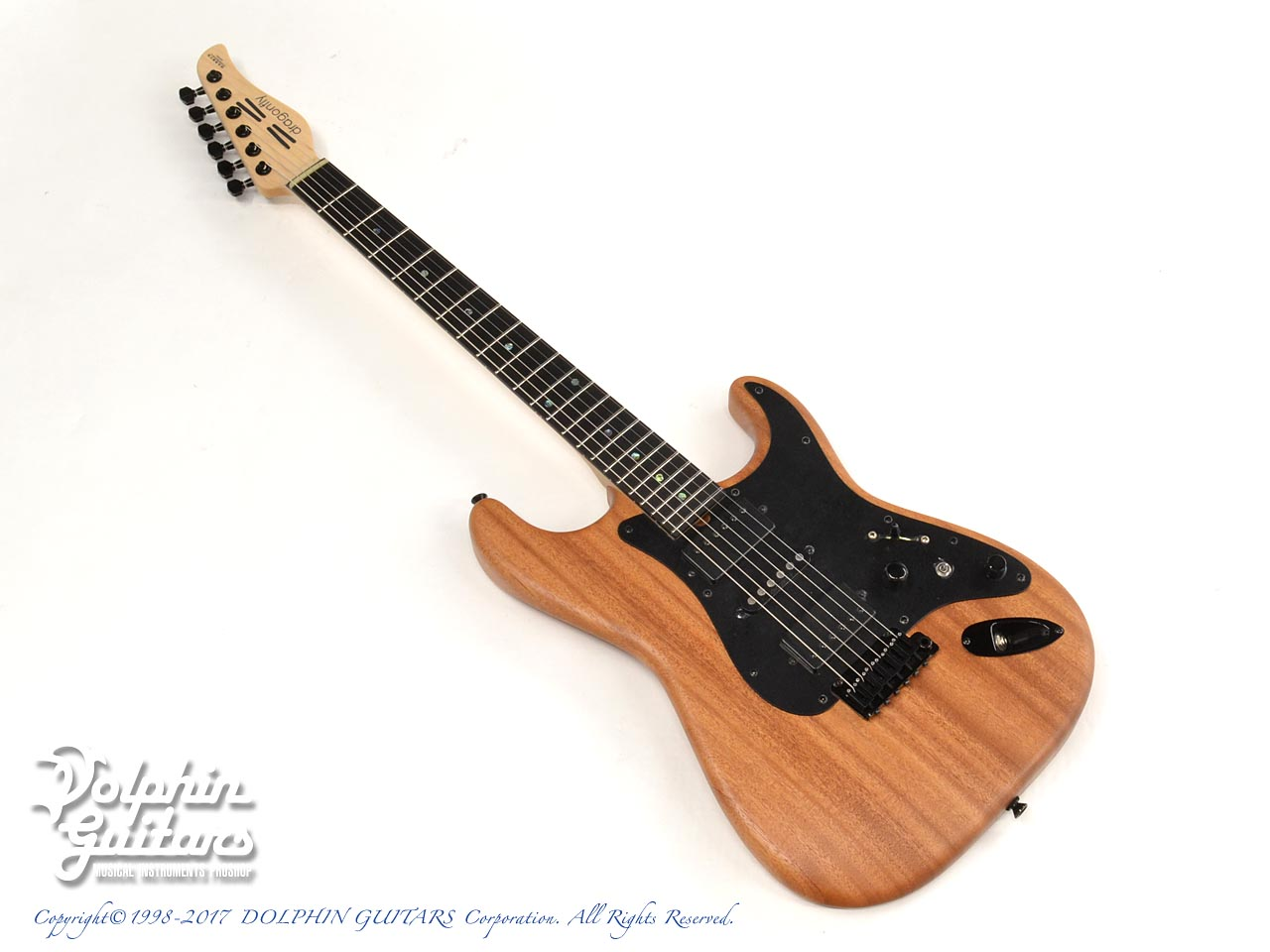 dragonfly: HI STA 22 FULL SIZE H-S-H Maple Neck (African Mahogany) (0)