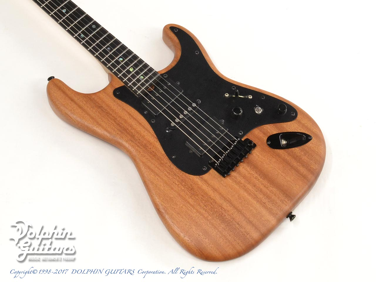 dragonfly: HI STA 22 FULL SIZE H-S-H Maple Neck (African Mahogany) (1)