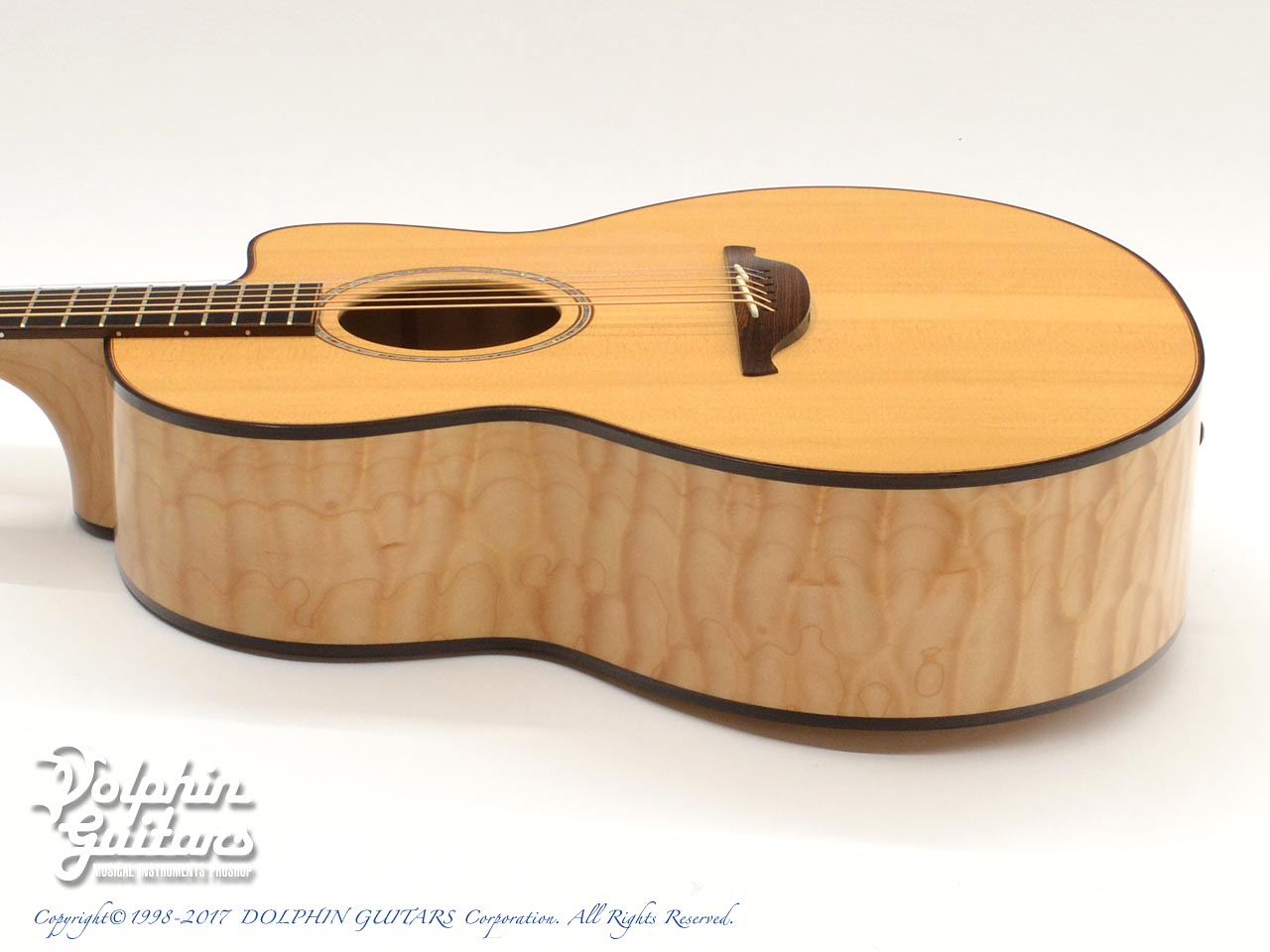 LOWDEN: Alex De Grassi (AAAA Quilted Maple) (2)