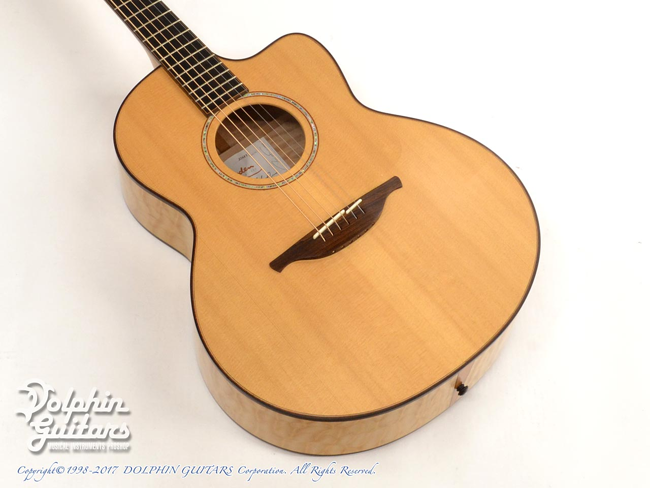 LOWDEN: Alex De Grassi (AAAA Quilted Maple) (1)