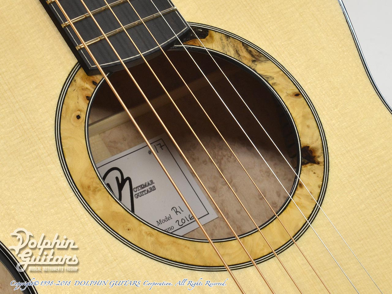 ROTEMAR GUITARS: R1 (German Spuruce & Birds Eyes Maple ) (8)