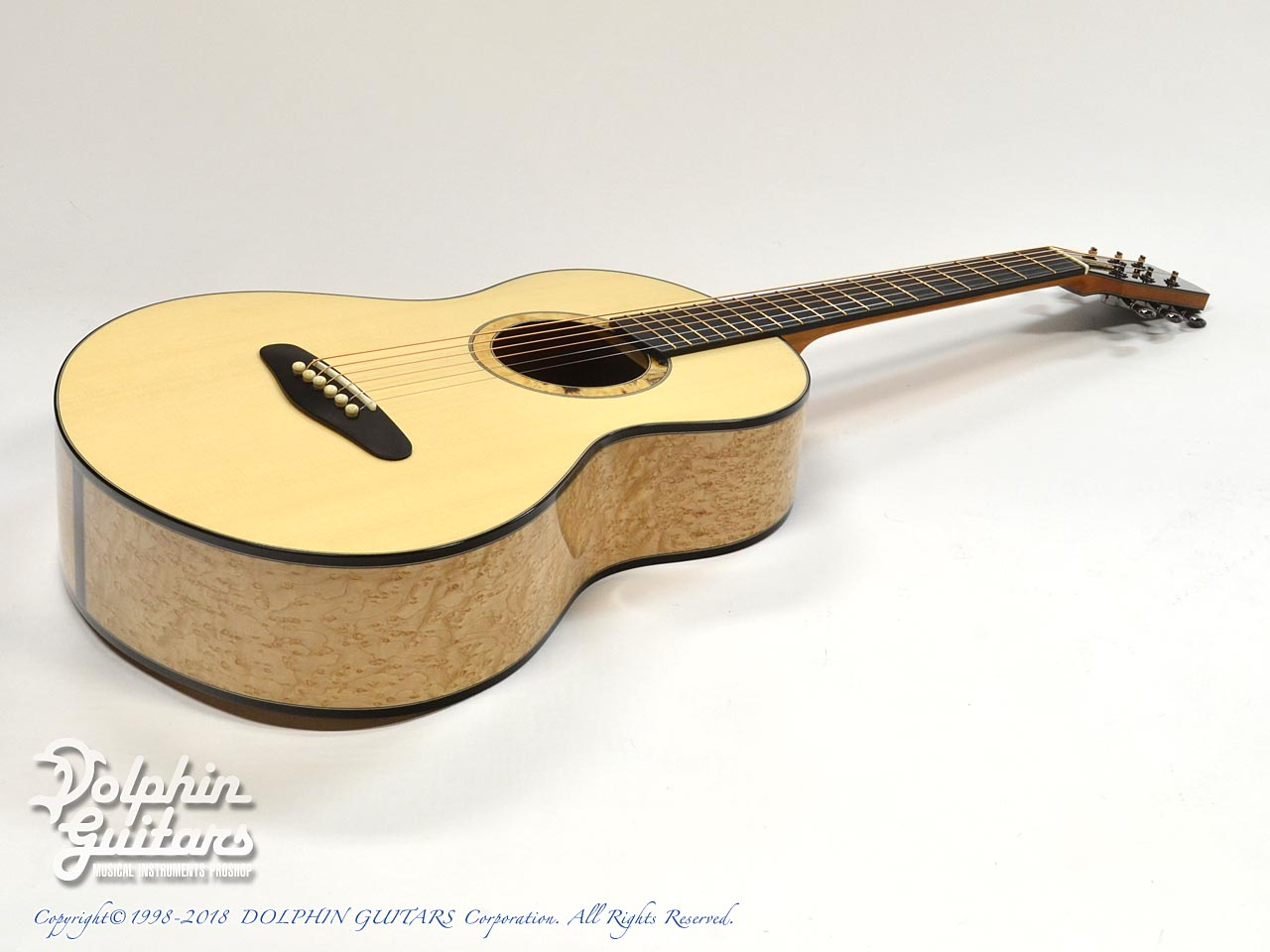 ROTEMAR GUITARS: R1 (German Spuruce & Birds Eyes Maple ) (9)