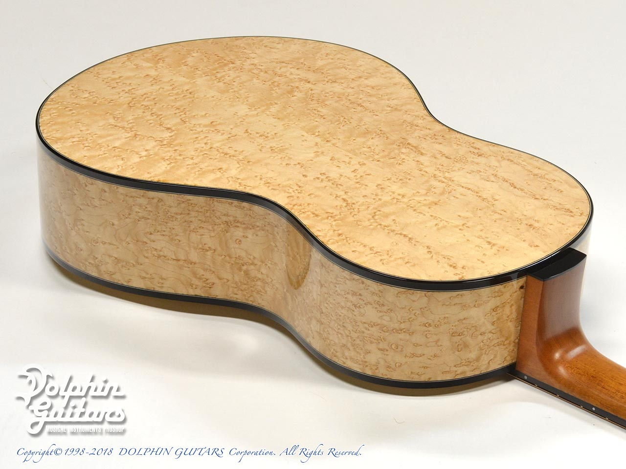 ROTEMAR GUITARS: R1 (German Spuruce & Birds Eyes Maple ) (10)