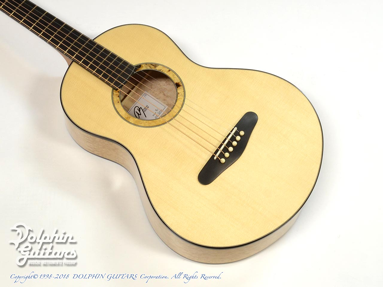 ROTEMAR GUITARS: R1 (German Spuruce & Birds Eyes Maple ) (1)