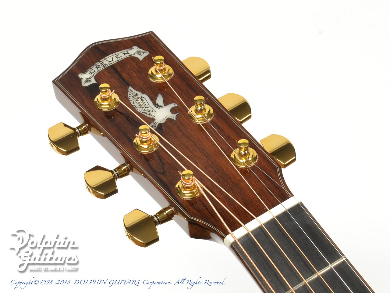 Greven Guitars Japan: Oshio-DC HR (Honduras Rosewood) w/RAPTOR SYSTEM by TRIAL  (6)