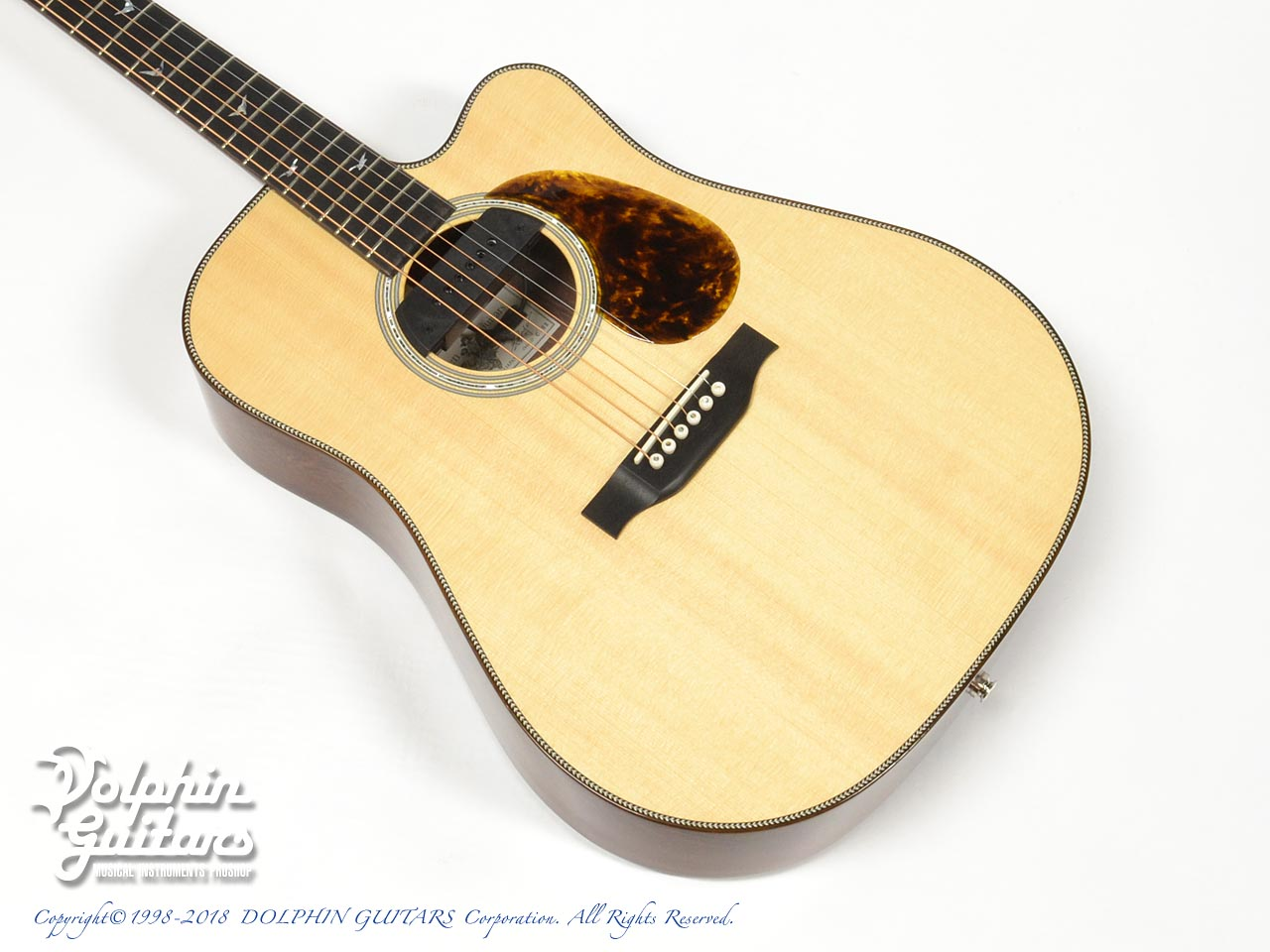 Greven Guitars Japan: Oshio-DC HR (Honduras Rosewood) w/RAPTOR SYSTEM by TRIAL  (1)