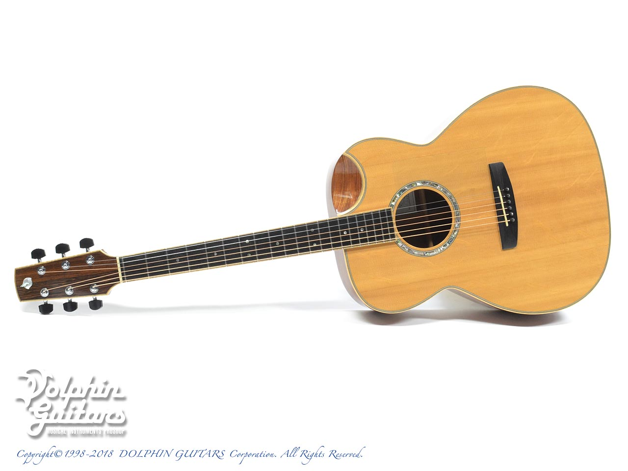 IWANEKO GUITARS: Type-MD (Dimple Cutaway) (0)
