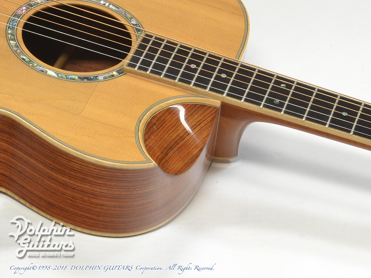 IWANEKO GUITARS: Type-MD (Dimple Cutaway) (8)