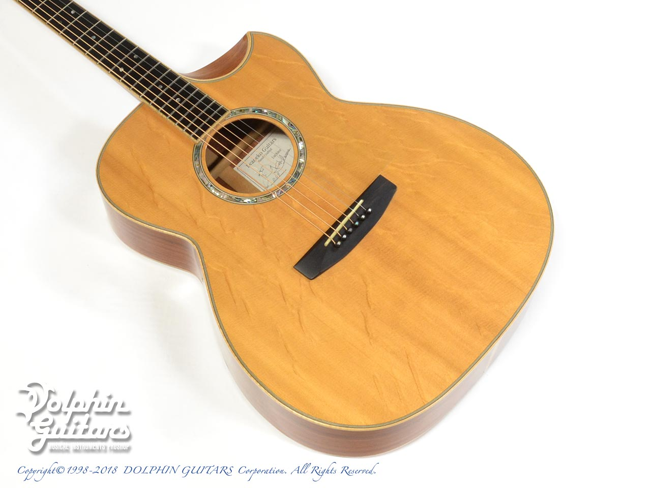 IWANEKO GUITARS: Type-MD (Dimple Cutaway) (1)