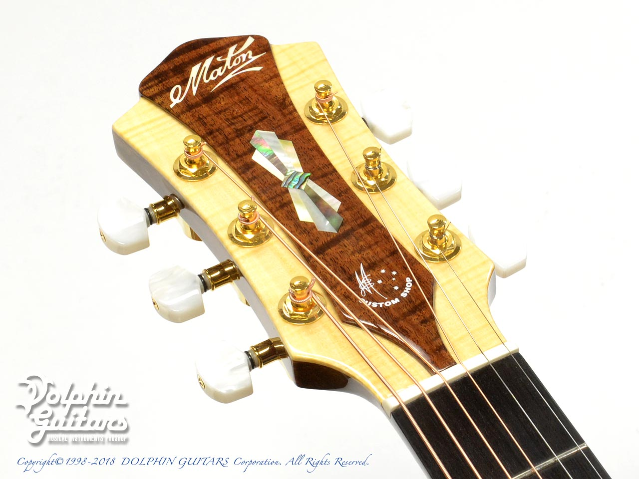 MATON: Custom Shop W.A. May D Gum Leaf (6)