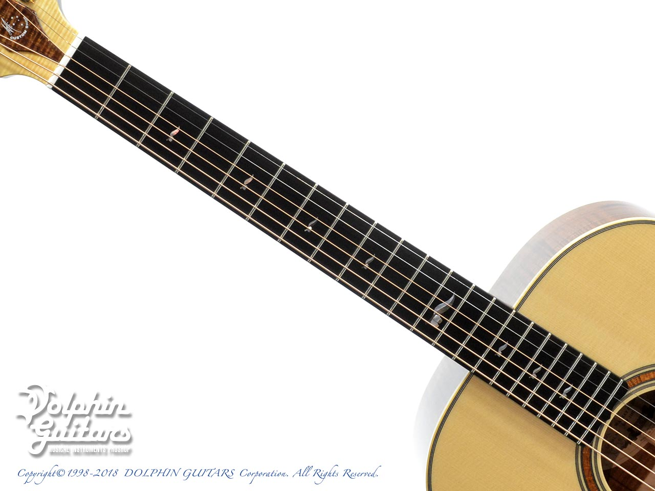 MATON: Custom Shop W.A. May D Gum Leaf (4)