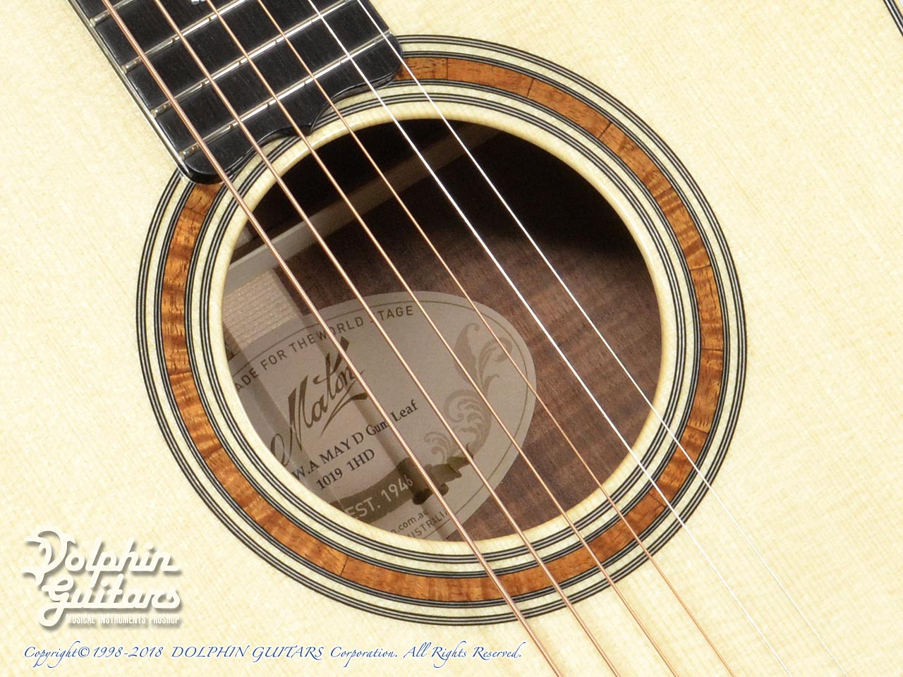 MATON: Custom Shop W.A. May D Gum Leaf (8)