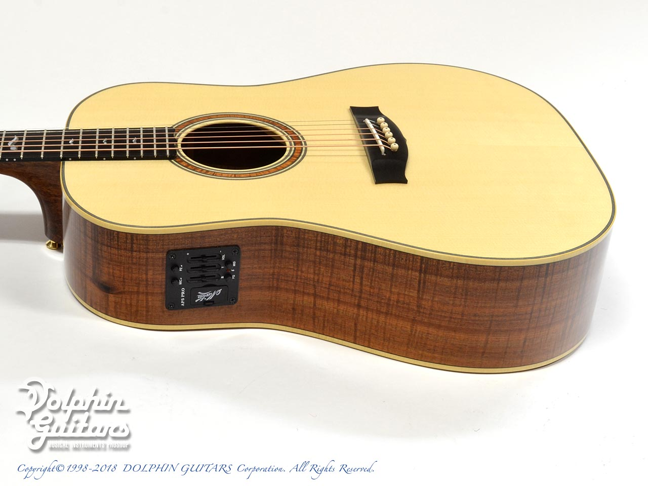 MATON: Custom Shop W.A. May D Gum Leaf (2)