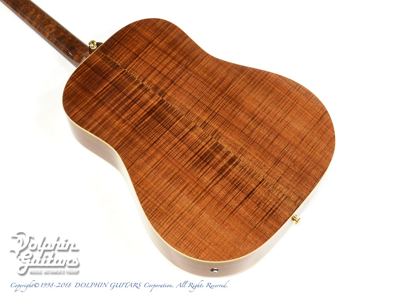 MATON: Custom Shop W.A. May D Gum Leaf (3)