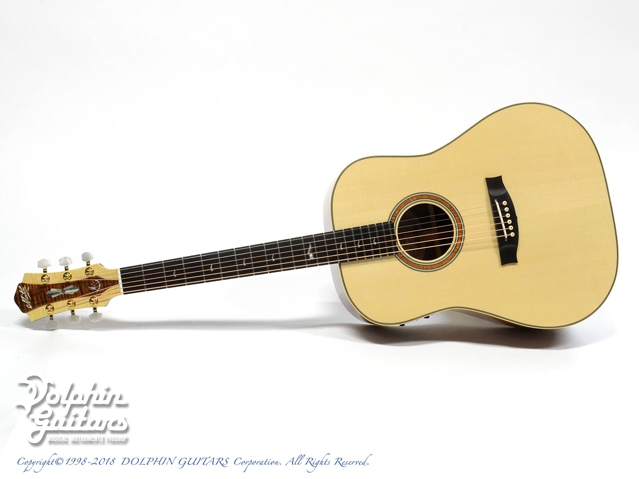MATON: Custom Shop W.A. May D Gum Leaf (0)