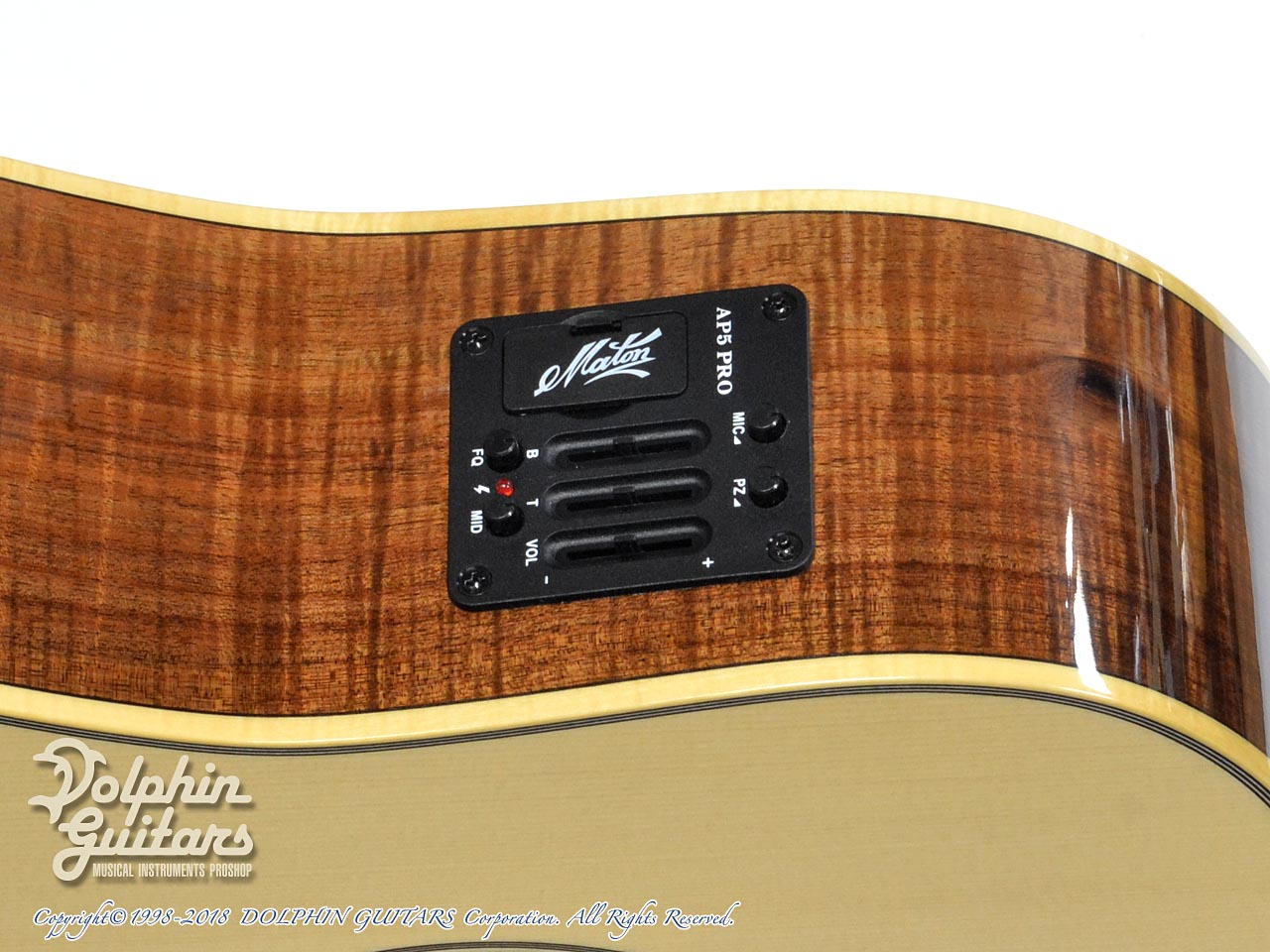 MATON: Custom Shop W.A. May D Gum Leaf (9)