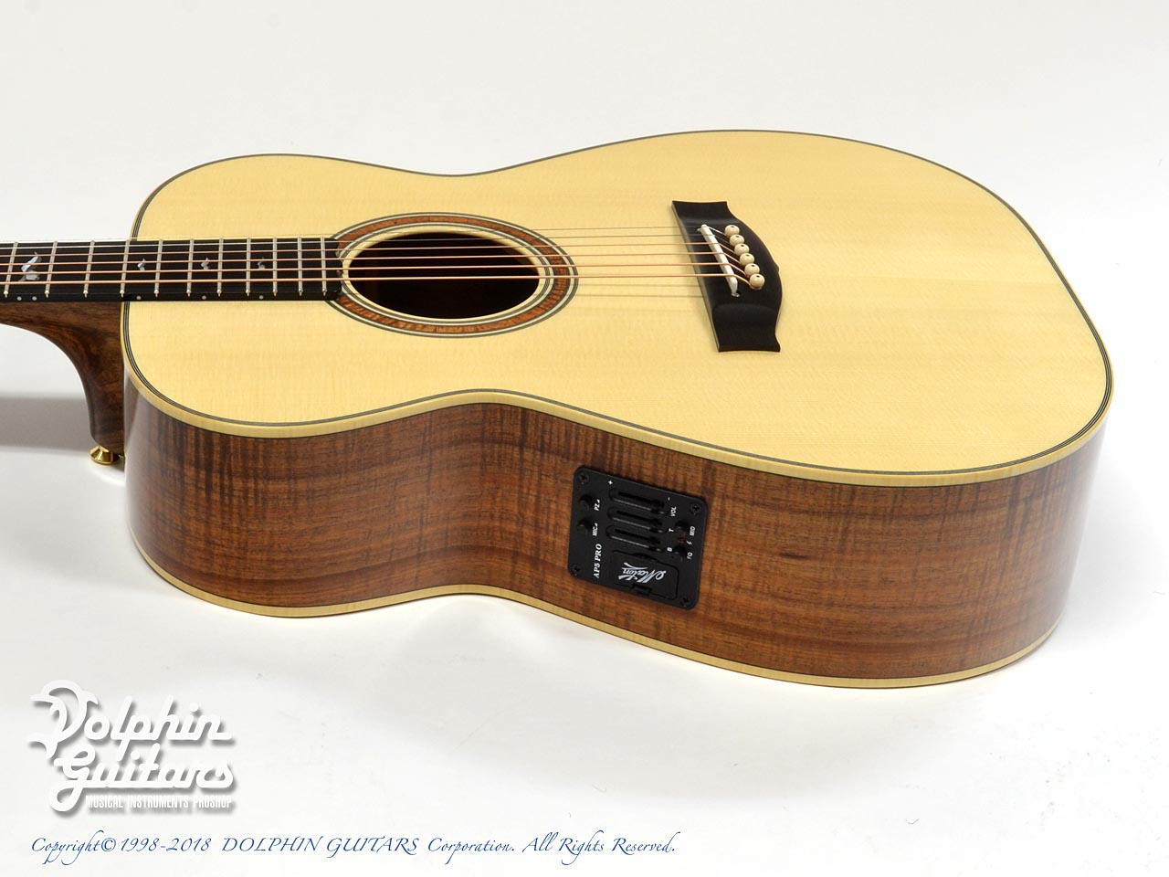 MATON: Custom Shop W.A. May 808 Gum Leaf (2)