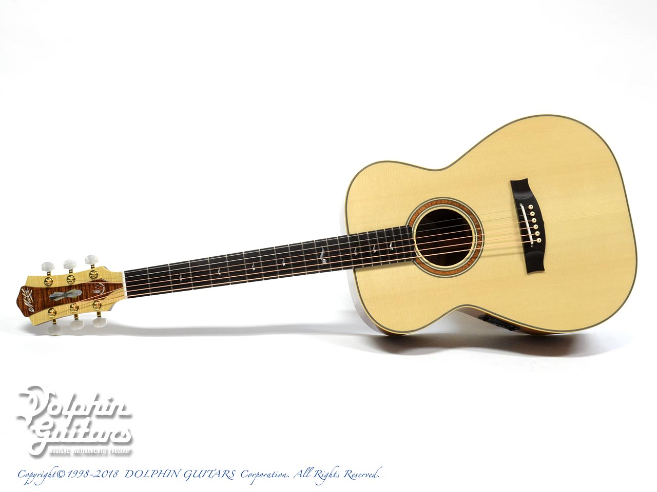 MATON: Custom Shop W.A. May 808 Gum Leaf (0)