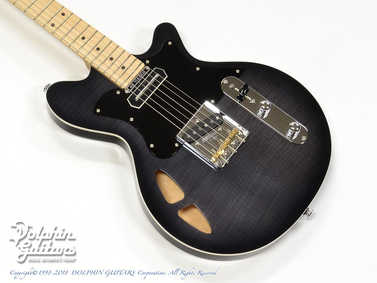 MATON: MS-T BYRD (Ghost Black) (1)