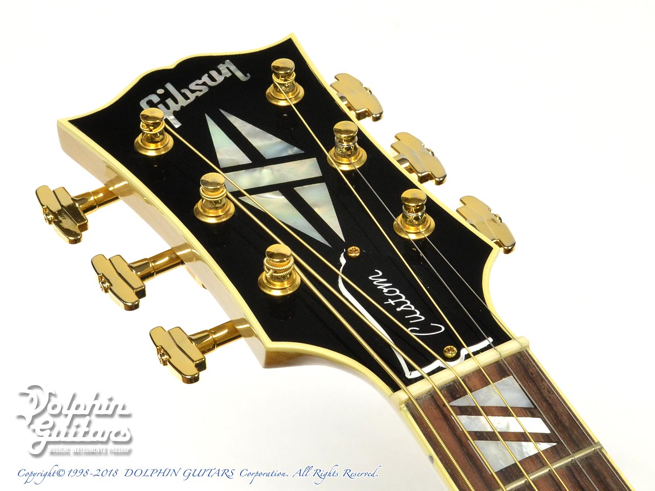 Gibson: Super 200 Custom (AN)【Limited Edition】 (6)