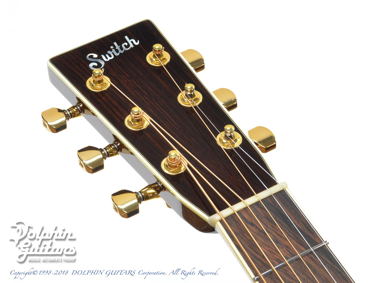 SWITCH:  SCD-3C Caa Limited (Sitka Spruce & Cocobolo) (Pearl White Top) (6)