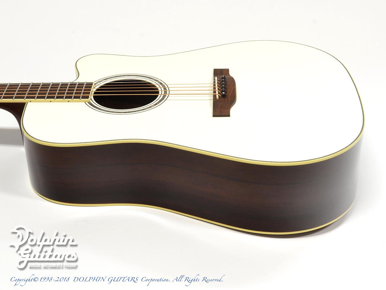 SWITCH:  SCD-3C Caa Limited (Sitka Spruce & Cocobolo) (Pearl White Top) (2)