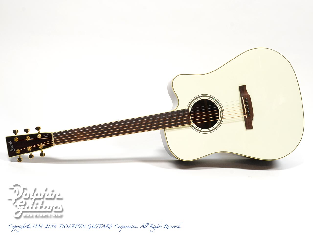 SWITCH:  SCD-3C Caa Limited (Sitka Spruce & Cocobolo) (Pearl White Top) (0)