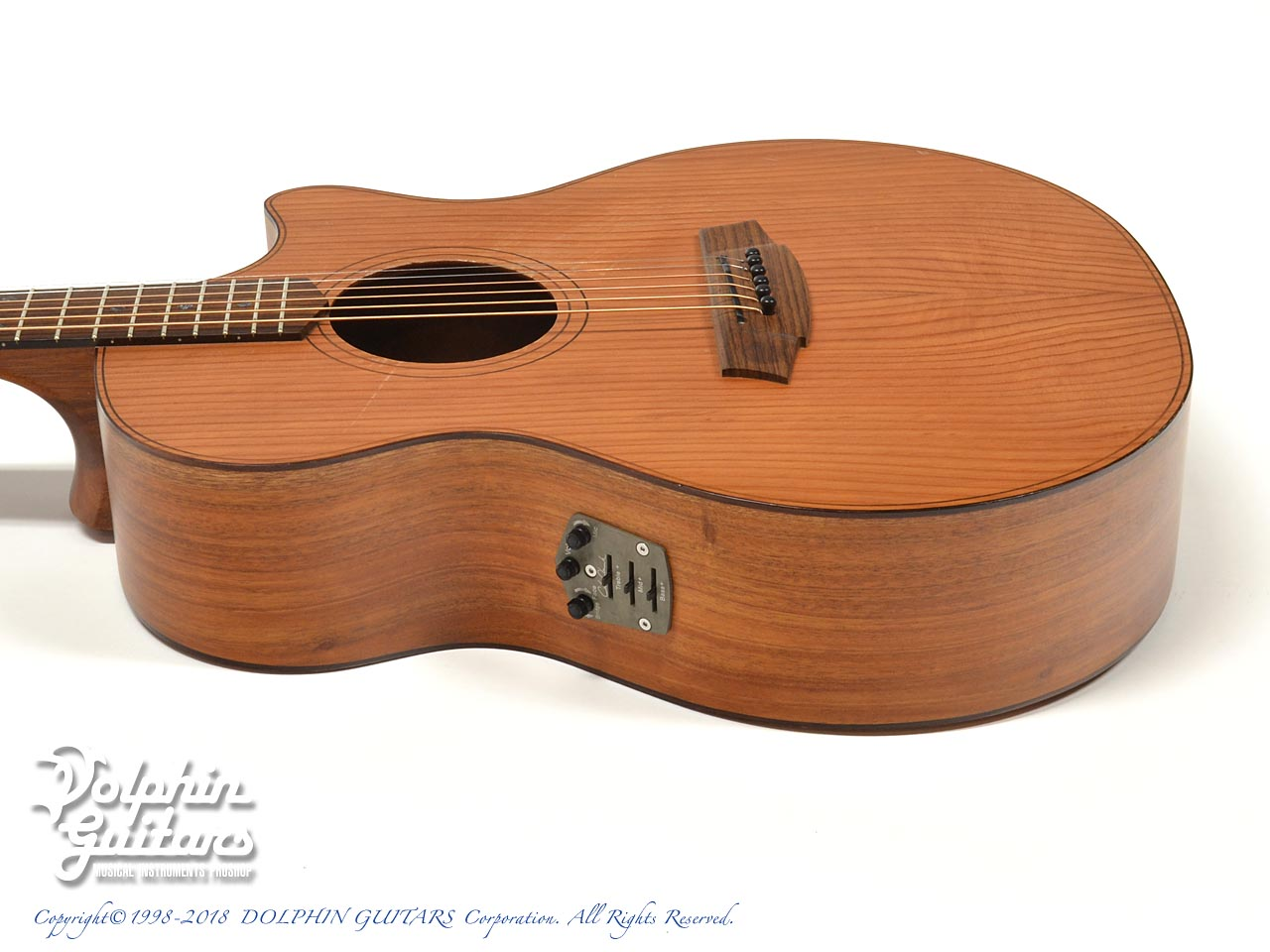 COLE CLARK: CCAN2EC -RDMAH Angel 2 (Red Wood & Mahogany) (2)