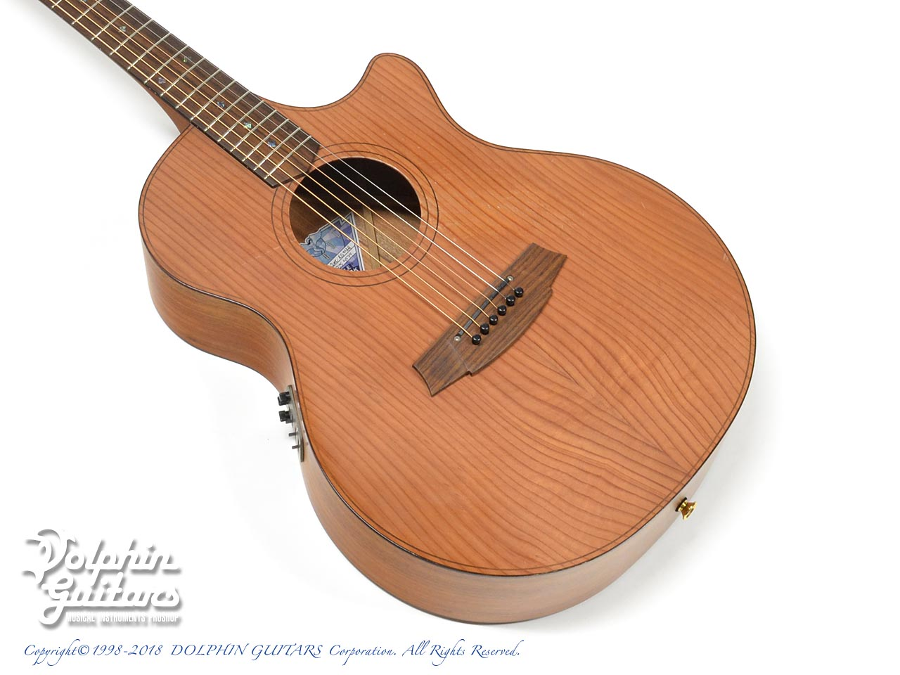 COLE CLARK: CCAN2EC -RDMAH Angel 2 (Red Wood & Mahogany) (1)