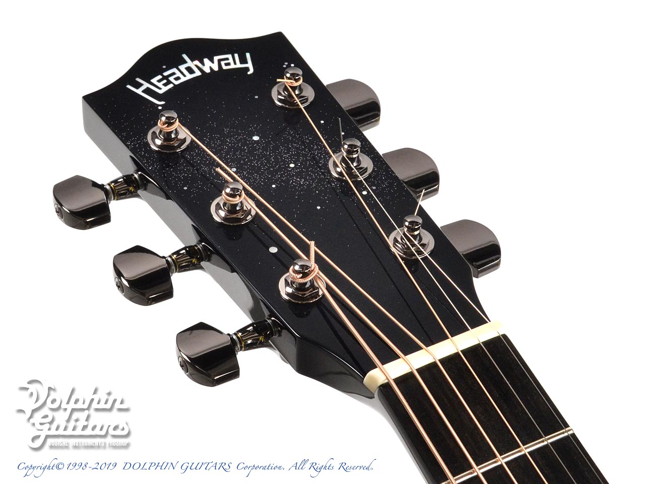 HEADWAY: HF-JET BLACK DX with Custom Ogawa Inlay (6)