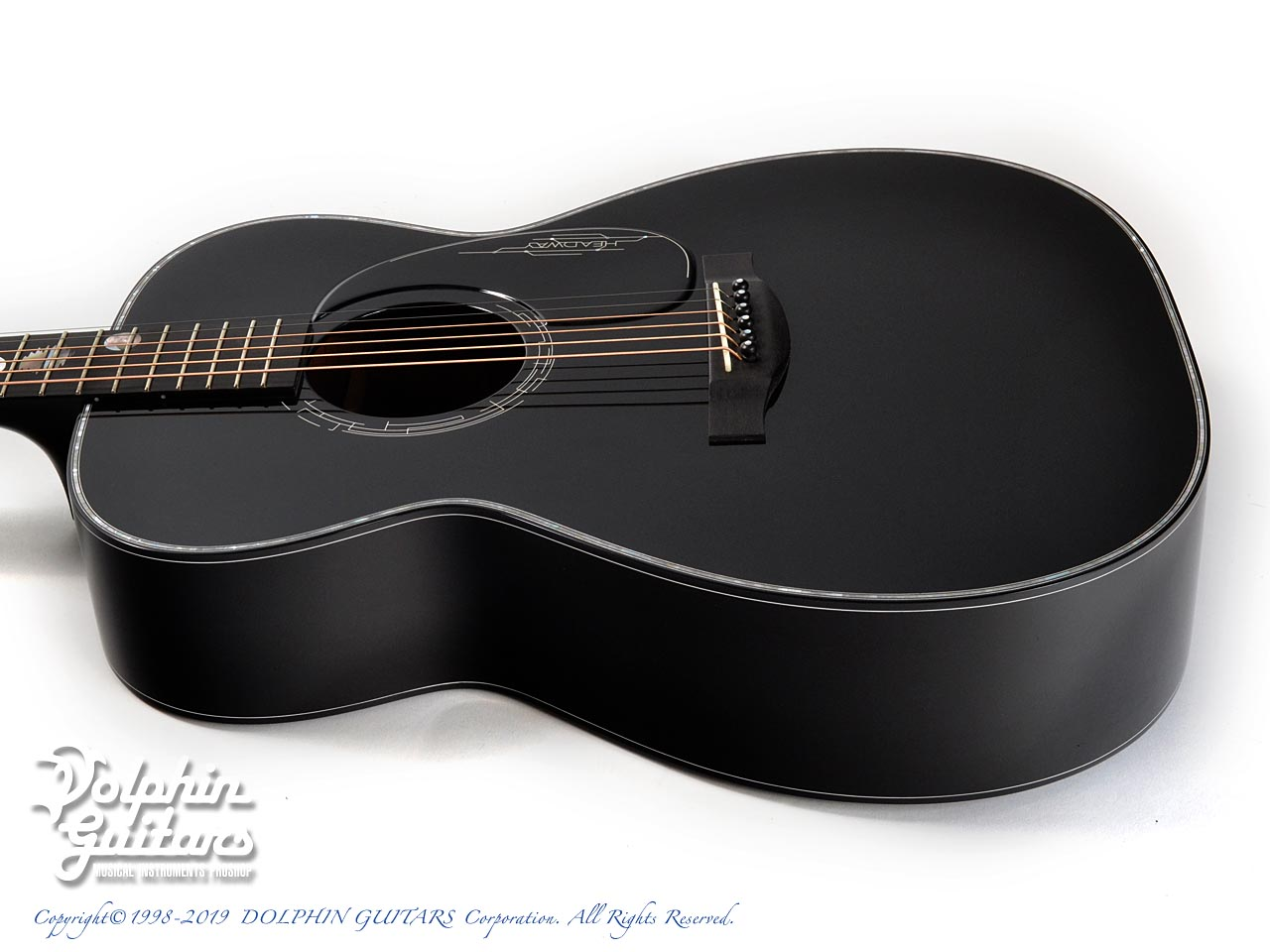 HEADWAY: HF-JET BLACK DX with Custom Ogawa Inlay (2)