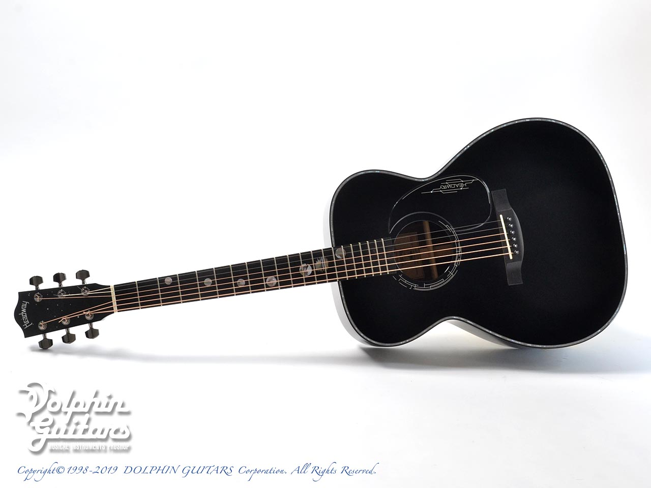 HEADWAY: HF-JET BLACK DX with Custom Ogawa Inlay (0)