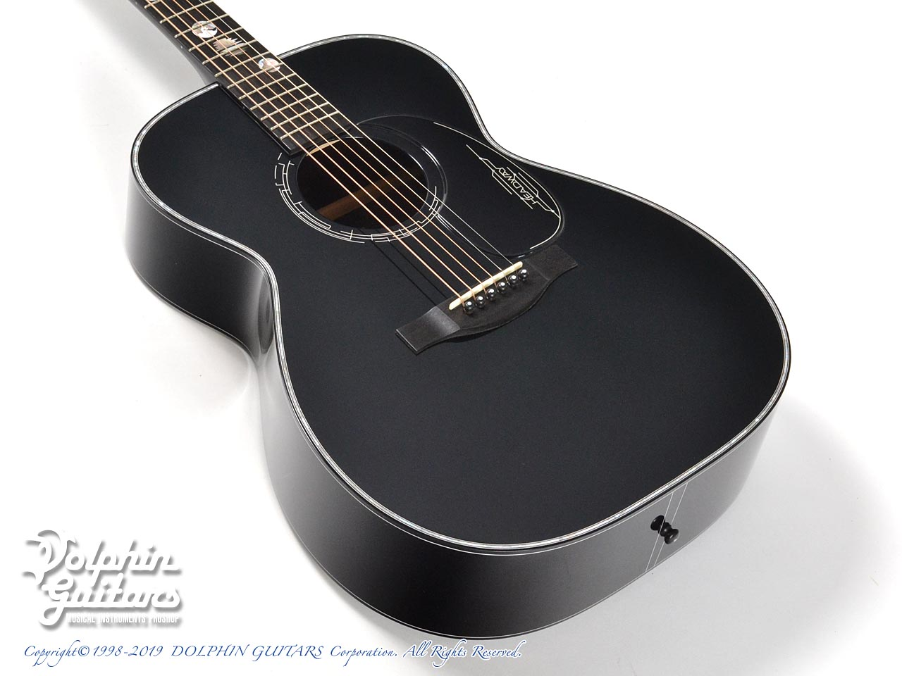 HEADWAY: HF-JET BLACK DX with Custom Ogawa Inlay (1)