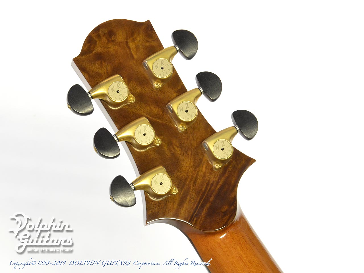 WATER ROAD GUITARS: D-12 (Cuban Mahogany) (7)