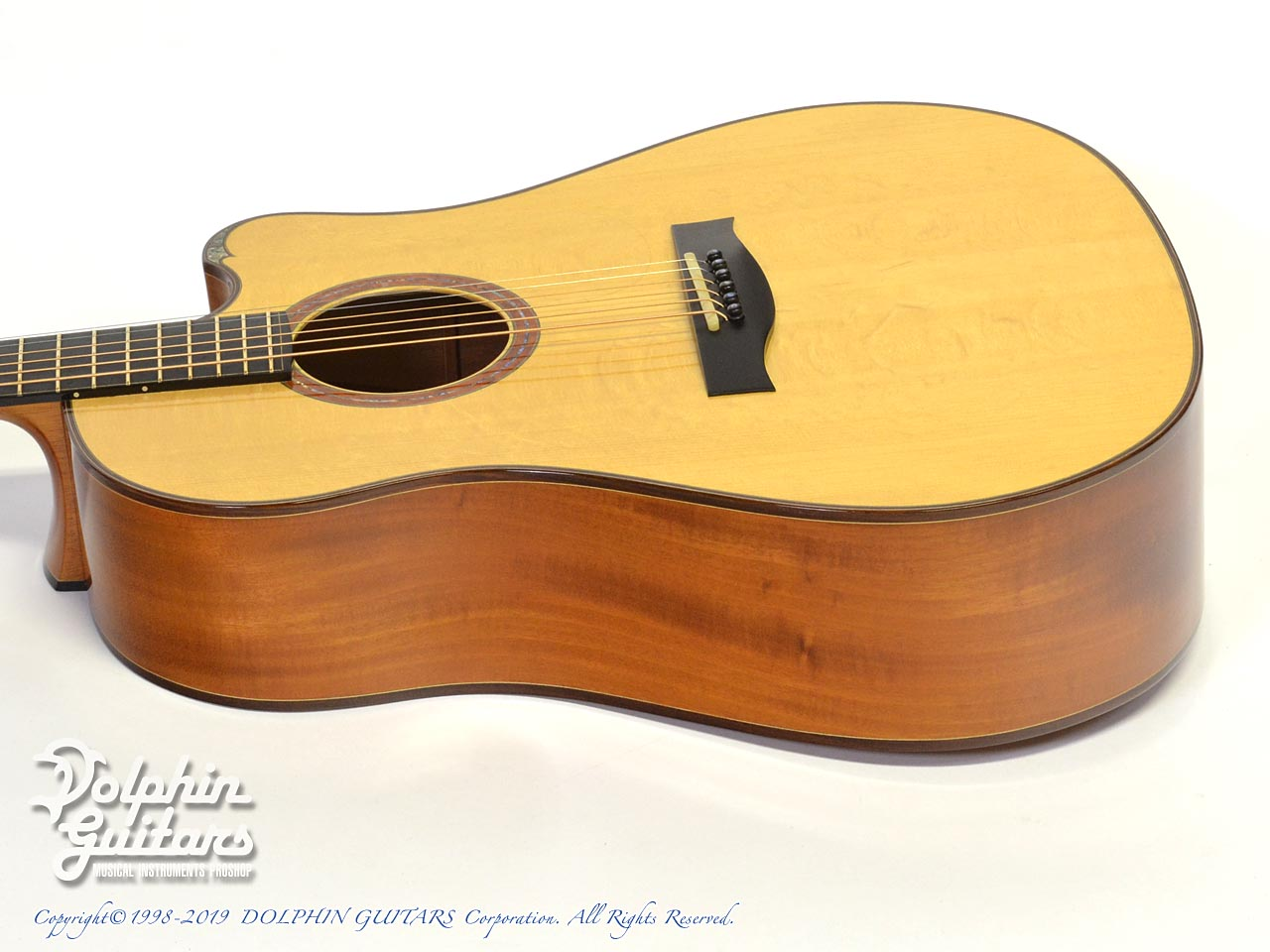 WATER ROAD GUITARS: D-12 (Cuban Mahogany) (2)