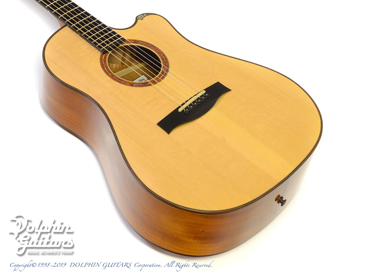 WATER ROAD GUITARS: D-12 (Cuban Mahogany) (1)