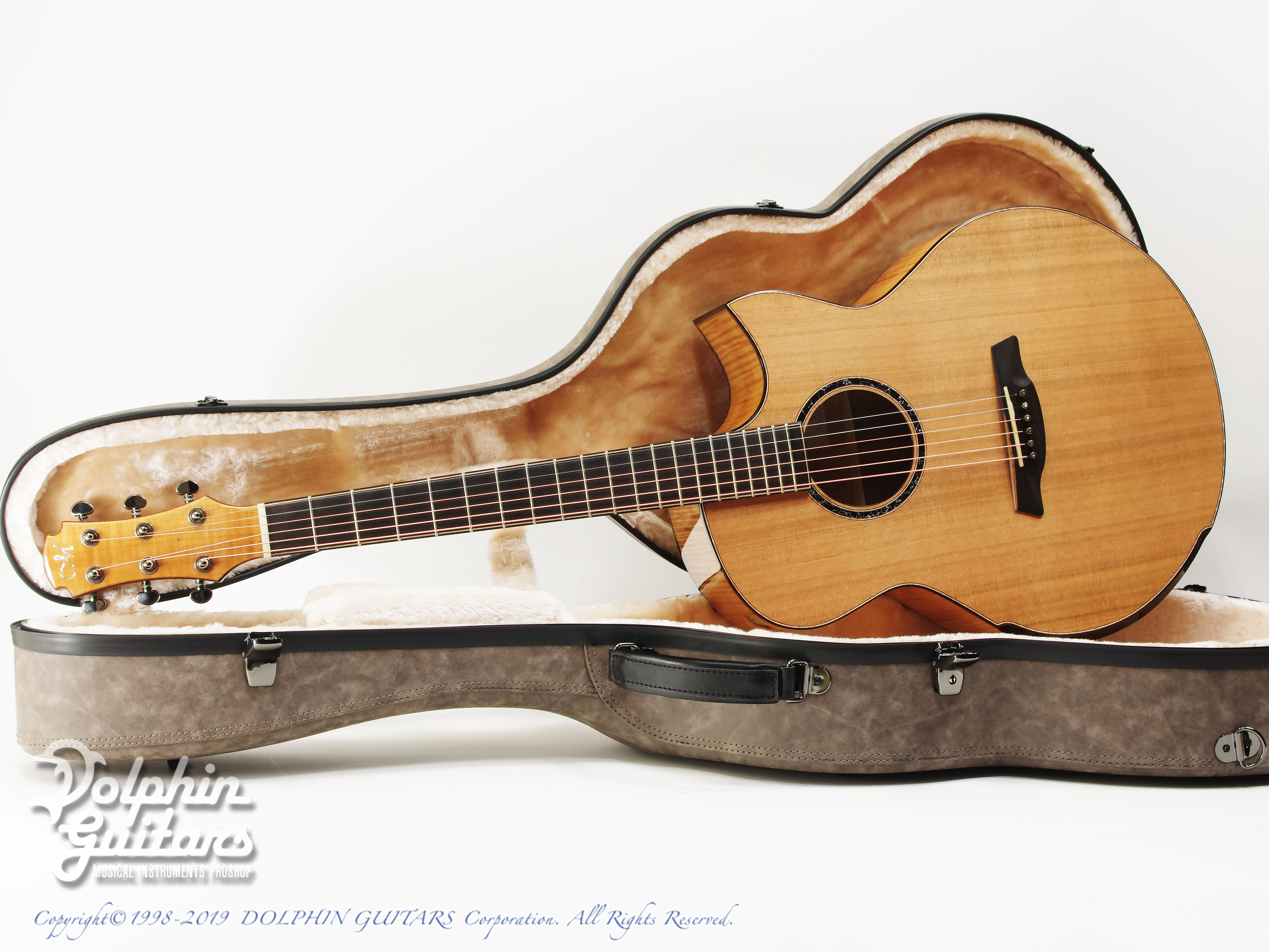 Maestro Guitars: Original Series Raffles FM CSB C (Flame Maple) (0)