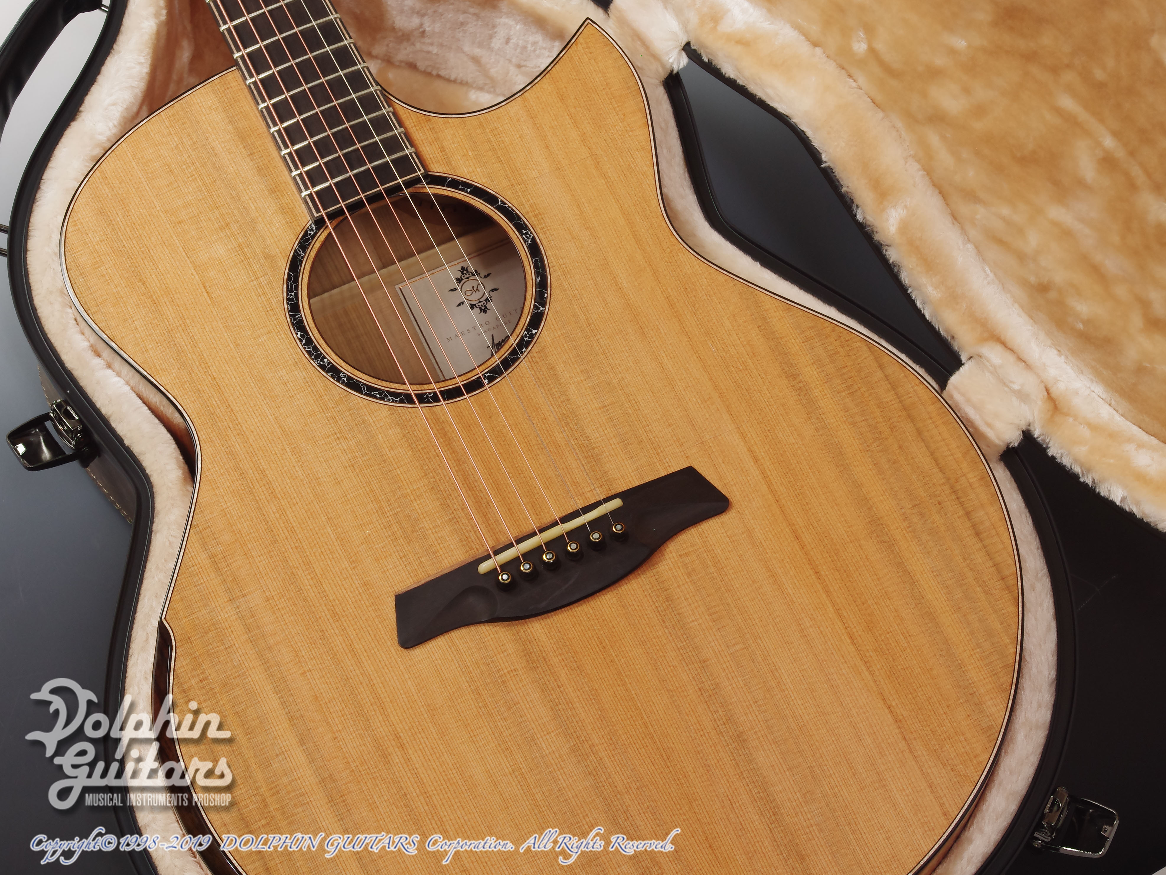 Maestro Guitars: Original Series Raffles FM CSB C (Flame Maple) (8)