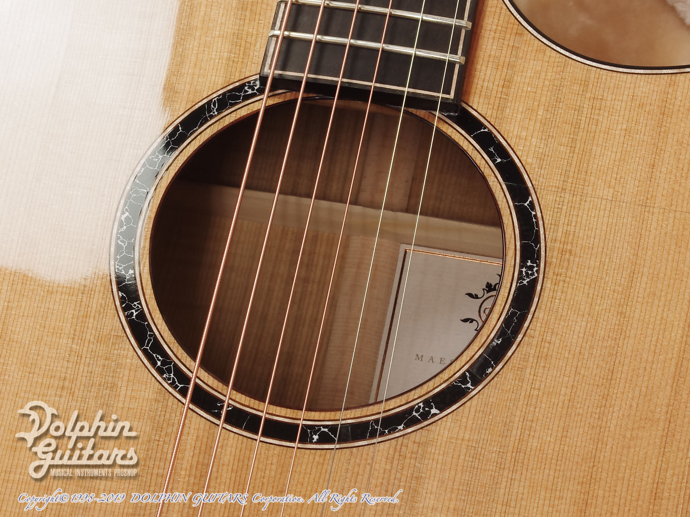 Maestro Guitars: Original Series Raffles FM CSB C (Flame Maple) (10)