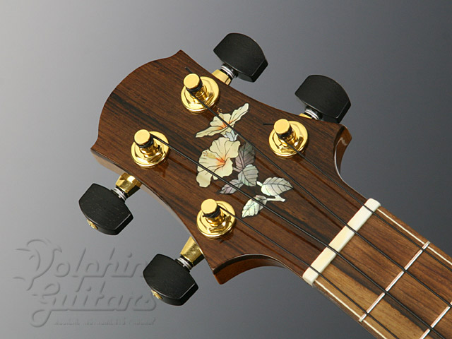WATER ROAD GUITARS: Concert (Hibiscus Yellow) (6)