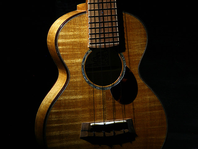 WATER ROAD GUITARS: Concert (Hibiscus Yellow) (8)
