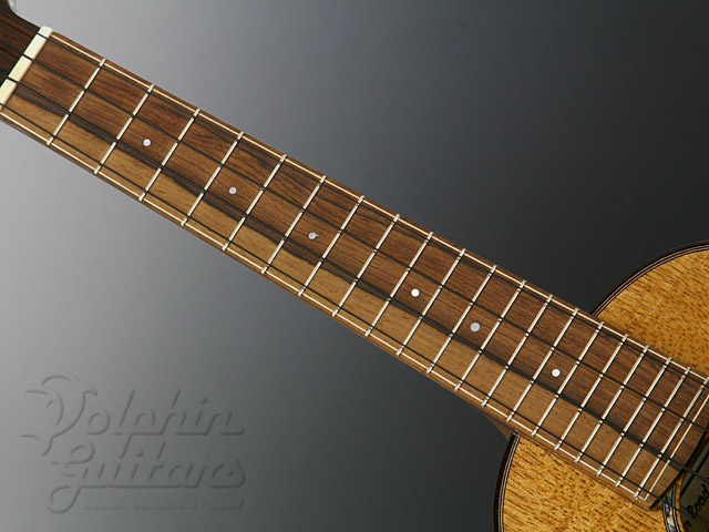 WATER ROAD GUITARS: Concert (Hibiscus Yellow) (4)