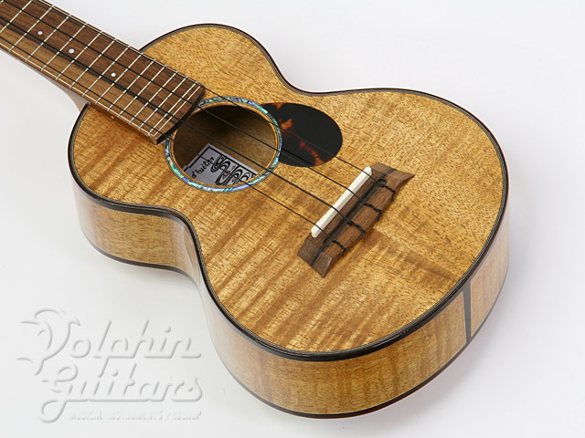 WATER ROAD GUITARS: Concert (Hibiscus Yellow) (1)