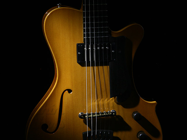 YAMAOKA ARCHTOP GUITARS: Strings Art K-4 (7)