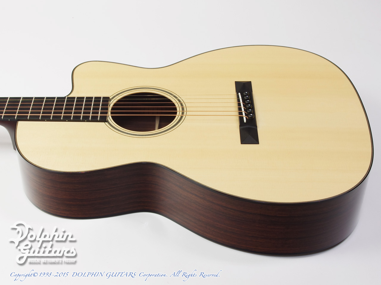 COLLINGS: 000-1E Cutaway (Indian Rosewood) (2)